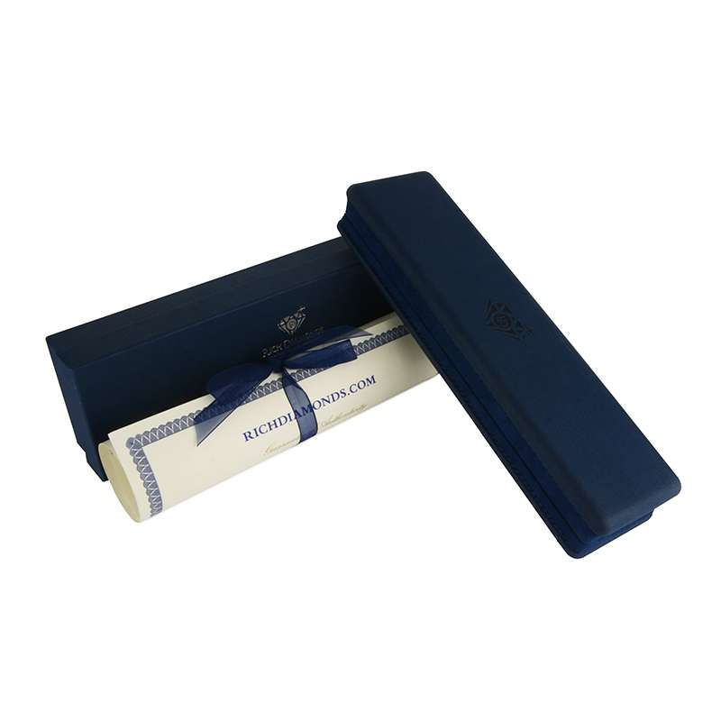 18k White Gold Diamond Line Bracelet 1.97ct G-H/VS